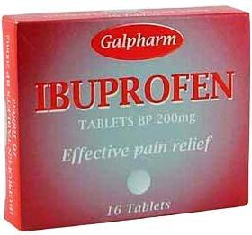 Ибупрофен - снимет отеки и облегчит болевые ощущения