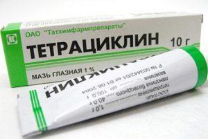 Действующее вещество в составе тетрациклина эффективно снимает воспаления